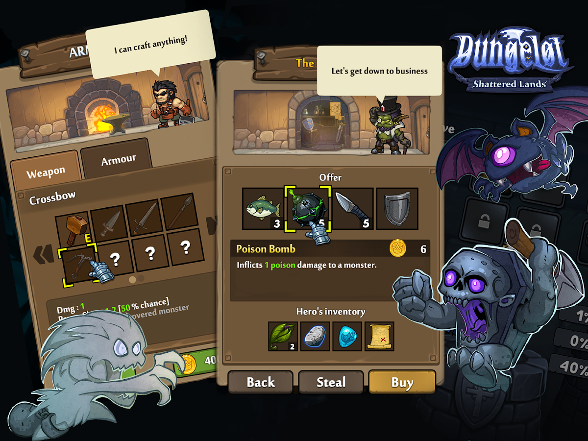 Dungelot Shattered Lands Screenshot 7