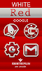 White Red Icon Pack: miniatura da captura de tela