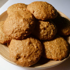 Banana Pumpkin Oatmeal Cookies