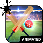 Cricket Animated Keyboard APK Image
