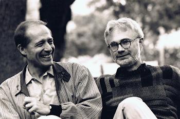 With John Adams, Ojai, California, 1993