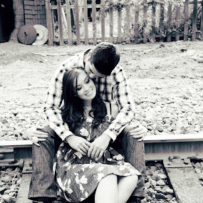 on the tracks by Scott Nelson - People Couples