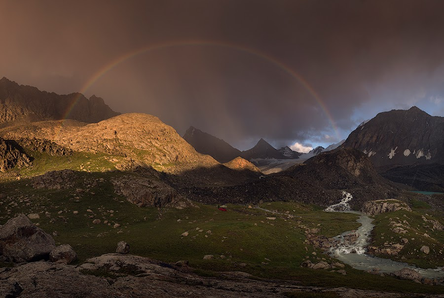 Rainbow hills by Danil Korzhonov - Landscapes Mountains & Hills ( tien-shan )