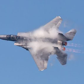 Strike Eagle by Phoo (mallardg500) Chan - Transportation Airplanes ( strike eagle, sonic boom )