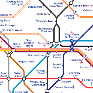 Tube Map: London Underground
