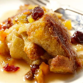 A modern twist on the tradition Irish bread pudding