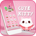 App Cute Kitty Theme-Lovely Kitty apk for kindle fire