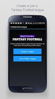 Screenshot of Yahoo Fantasy Sports