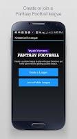 Screenshot of Yahoo Fantasy Sports