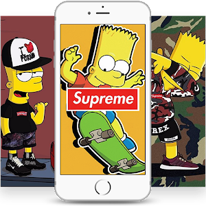 Bart x Supreme Wallpapers HD For PC
