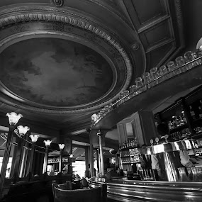 Charming Paris by João Ferreira - Black & White Buildings & Architecture ( paris )