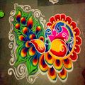 300+ Creative Rangoli Designs APK for Bluestacks
