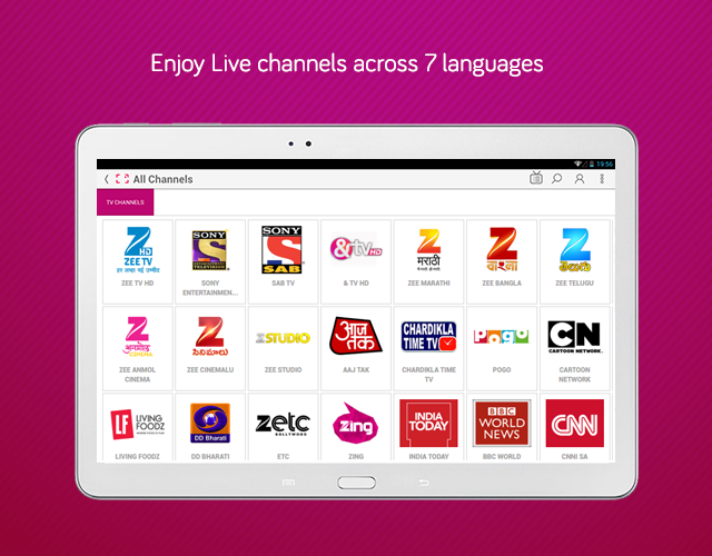 dittoTV: Live TV shows channel Screenshot 5