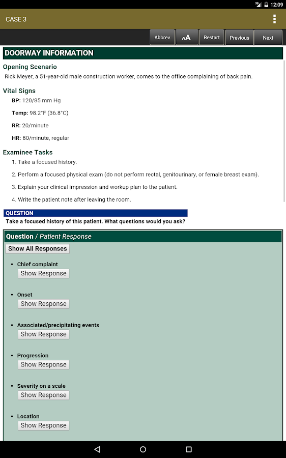First Aid USMLE Step 2 CS 5/E Screenshot 15