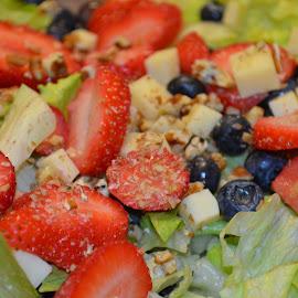 by Teresa Wooles - Food & Drink Fruits & Vegetables ( salad, food, strawberries, vegetable )