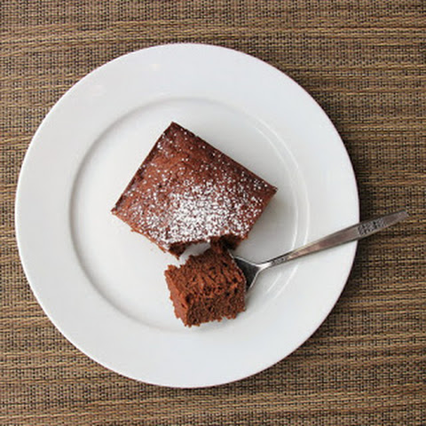 Chocolate Cake with Coconut Oil