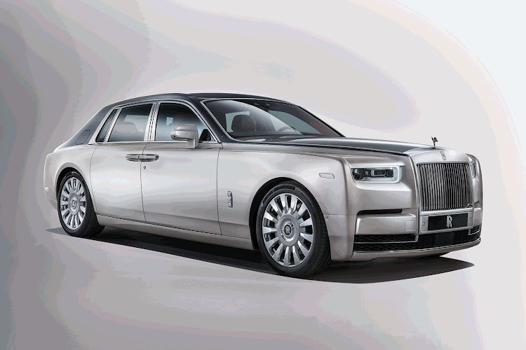 There are a few design changes but the overall look of the new Phantom is about presence