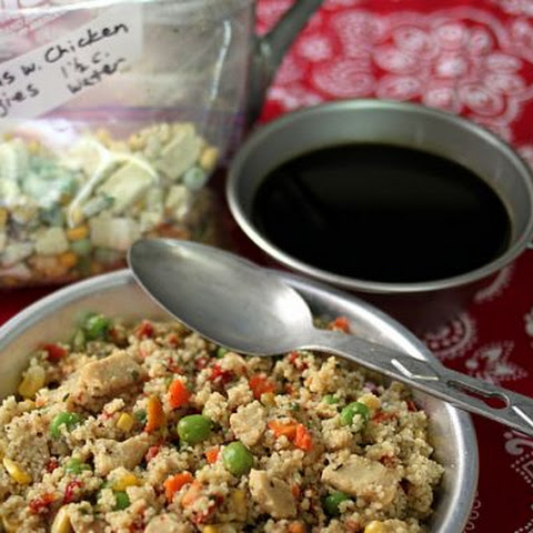 Instant Meal-On-The-Go | Cous Cous with Chicken & Vegetables