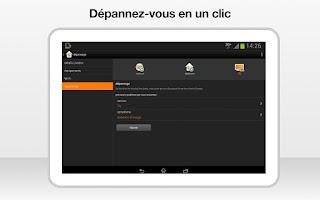 Screenshot of ma Livebox