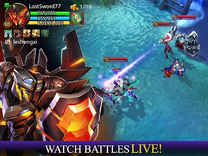 Game Heroes of Order & Chaos APK for Windows Phone