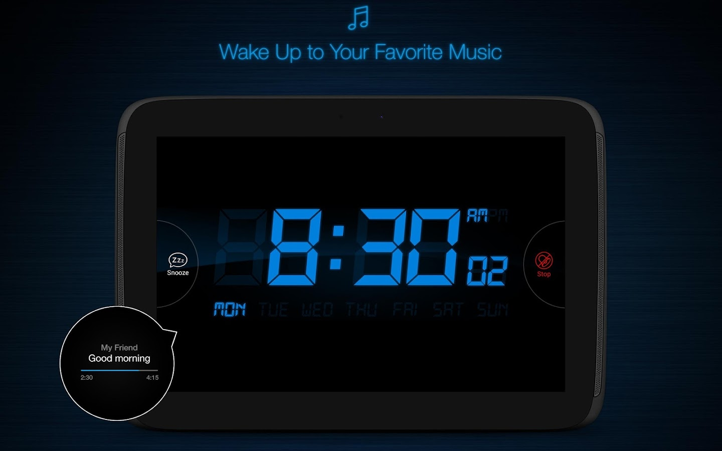 My Alarm Clock Free Screenshot 8