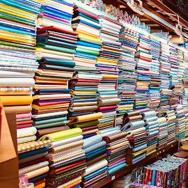 It's a wrap by Andrae McDonald - City,  Street & Park  Markets & Shops ( multicolored, paper, rainbow colors, wrap, colors )