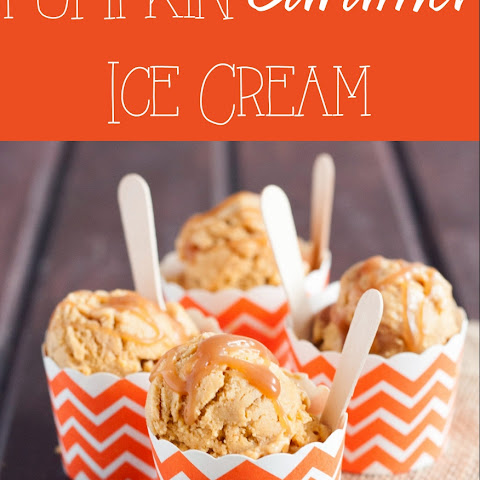 Pumpkin Caramel Ice Cream