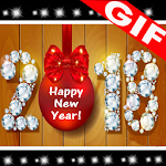 New Year GIF 2018 Icon