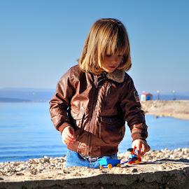 Marcello by Dalibor Jud - Babies & Children Children Candids ( adriatic, more, crikvenica, jadransko, croatia, sea, marcello, playtime )