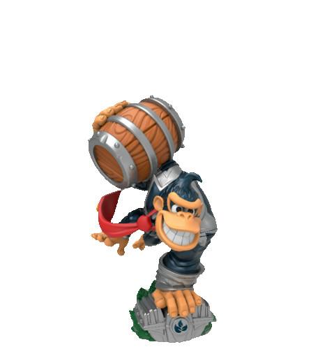 Dark Turbo Charge Donkey Kong - Skylanders: SuperChargers series