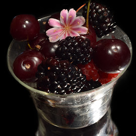 fruits with the flower by LADOCKi Elvira - Food & Drink Fruits & Vegetables