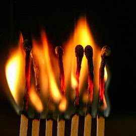 Burning Down The Match by D.M. Russ - Artistic Objects Other Objects