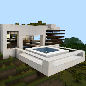 Building House Minecraft Maps For PC