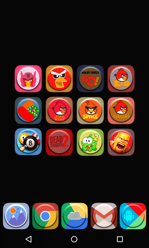 A-One icon pack Screenshot 2