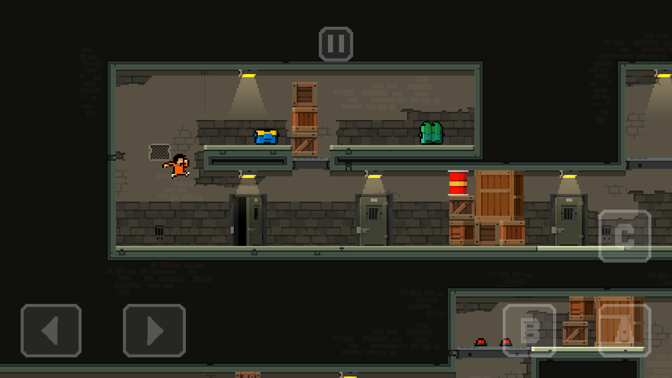 Prison Run and Gun Screenshot 0