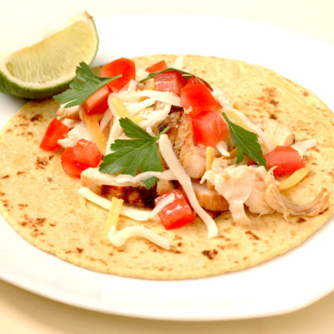 Jalapeno Lime Chicken Tacos