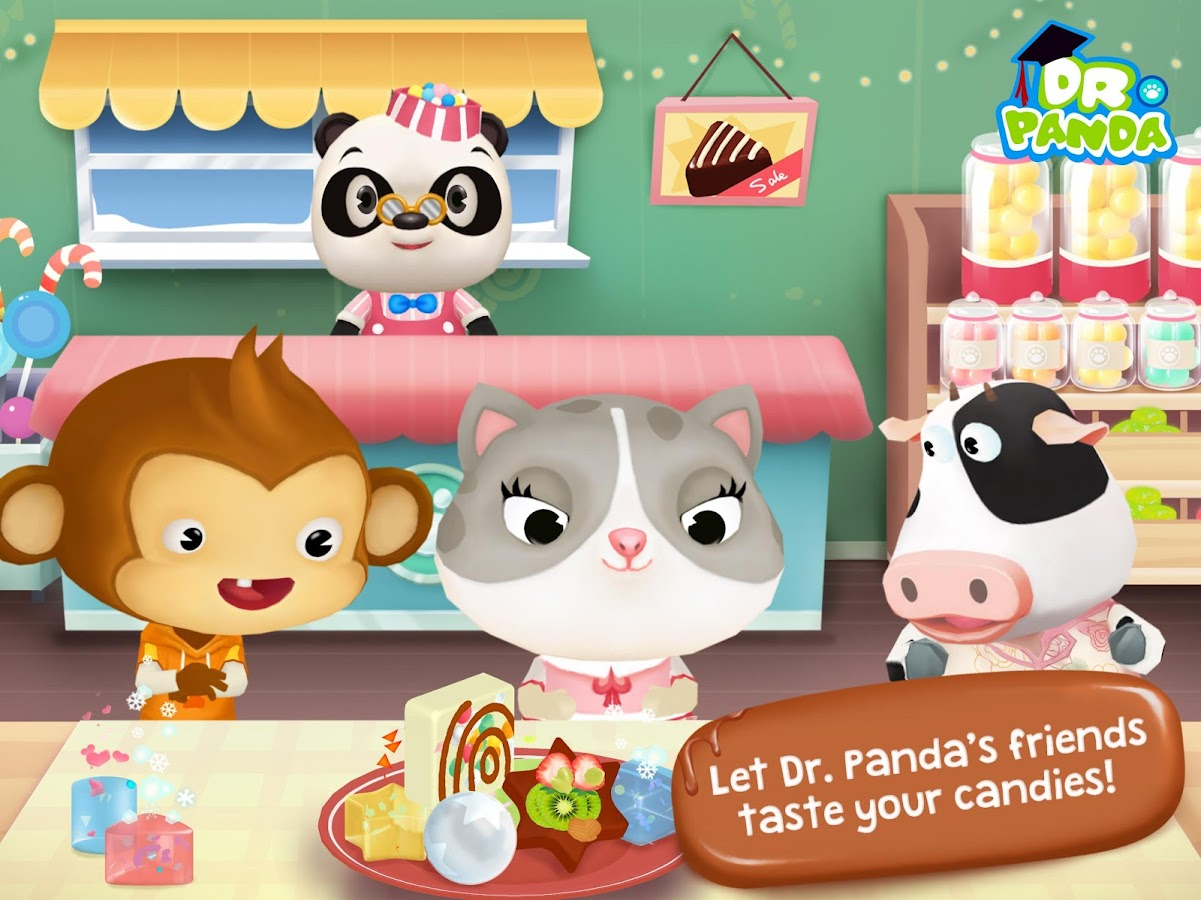 Dr. Panda Candy Factory Screenshot 5