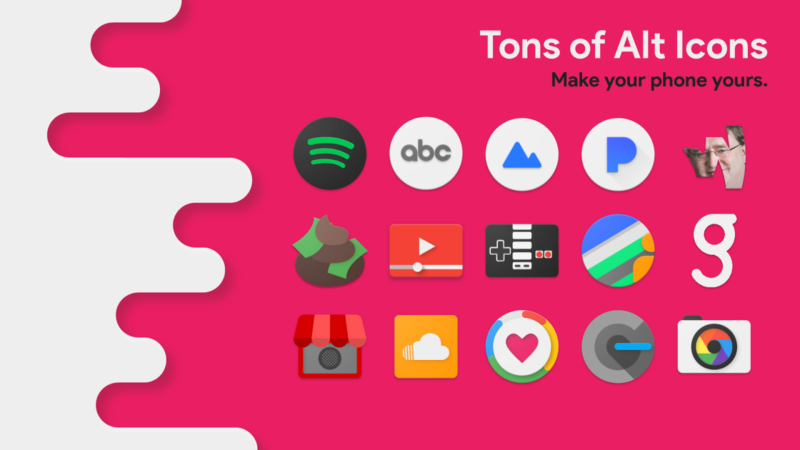 Splash - Material Icon Pack Screenshot 1