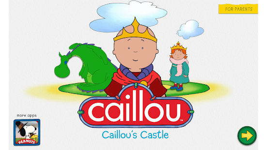 Caillou's Castle - screenshot