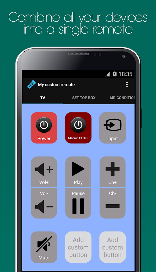 Galaxy Universal Remote Screenshot 5