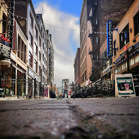 E.4th St. by Christopher Gray - Instagram & Mobile iPhone ( shot from down here )