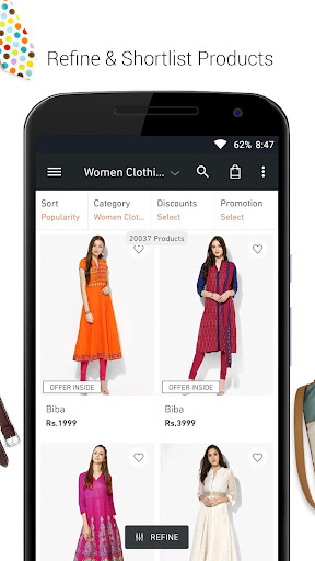 JABONG ONLINE SHOPPING APP screenshot 3