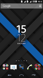 Xperien Theme X-Blue 2.0 - screenshot