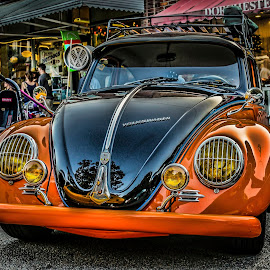 Ultra-bug by DB Channer - Transportation Automobiles ( car, vw, orange, beetle, volkswagen )