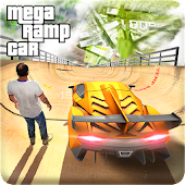 Mega Ramp Car Racing Stunts Ramp Construction