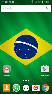 Brasil Live Wallpaper - screenshot