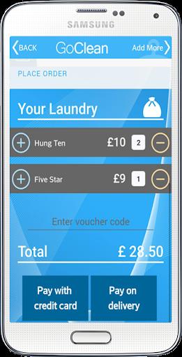 GoClean Laundry screenshot 7