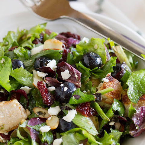 Berry Balsamic Chopped Salad