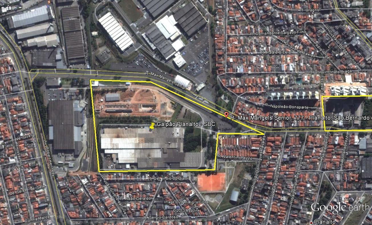 Galpão, Jardim Calux, São Bernardo do Campo (GA0144)