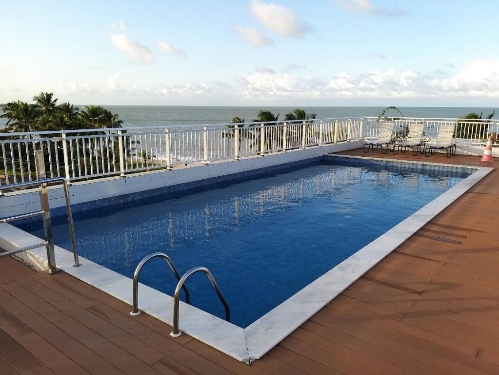 Flat com 1 dormitório à venda, 35 m² por R$ 295.000 - Orla Cabo Branco - João Pessoa/PB